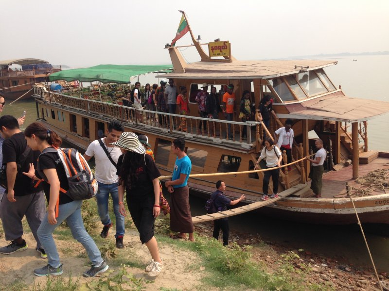 Boat Excursion from Mandalay to Mingun full day