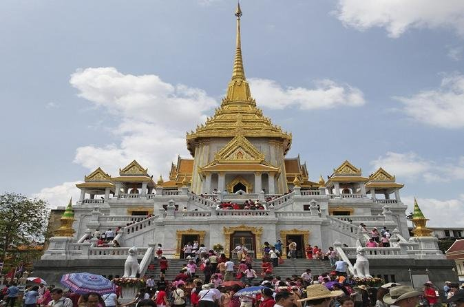 Private Bangkok In One Day With Chao Phraya River Cruise""