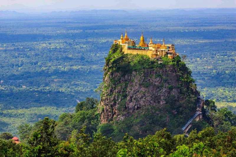 Day Tour to Mount Popa by bike