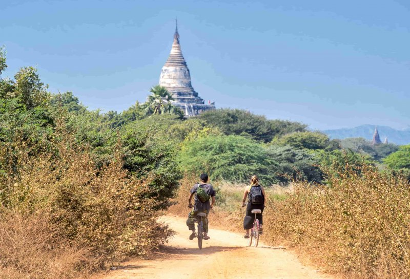 Temple Tour of Bagan by bike